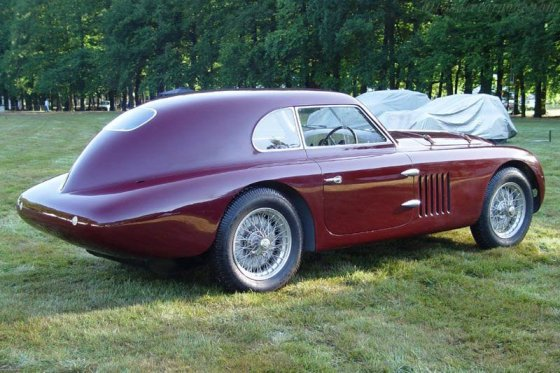 1939 Alfa 6C 2500 SS Le Mans Berlinetta by Touring 2