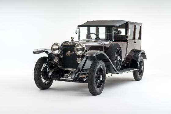 1924 Alfa Romeo RL Normale Coupe de Ville